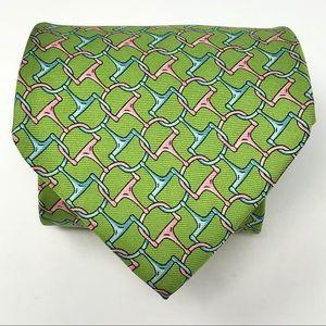 Brooks Brothers Silk Tie Horsebit Kentucky Derby